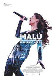 Cartel oficial en español de: Malú, ni un paso atrás
