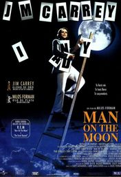 Cartel oficial en español de: Man on the Moon