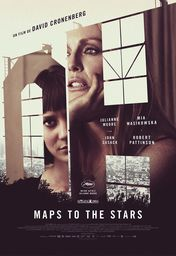 Cartel oficial en español de: Maps to the Stars