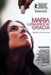 Cartel oficial en español de: María, llena eres de gracia