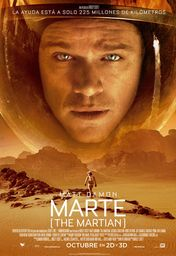 Cartel oficial en español de: Marte (The Martian)