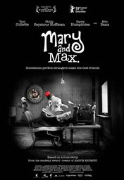Cartel oficial en español de: Mary and Max
