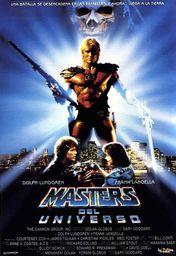 Cartel oficial en español de: Masters del universo