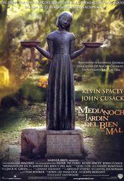 Cartel oficial en español de: Medianoche en el jardín del bien y del mal