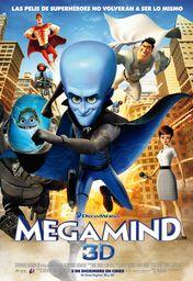 Cartel oficial en español de: Megamind