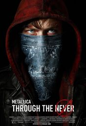 Cartel oficial en español de: Metallica: Through the Never