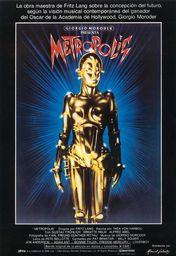 Cartel oficial en español de: Metrópolis