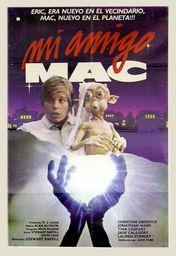 Cartel oficial en español de: Mi amigo Mac
