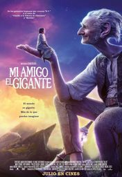 Cartel oficial en español de: Mi amigo el gigante