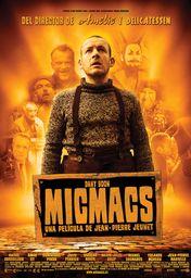 Cartel oficial en español de: Micmacs