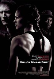Cartel oficial en español de: Million Dollar Baby