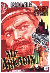 Cartel oficial en español de: Mister Arkadin