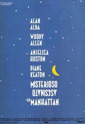 Cartel oficial en español de: Misterioso asesinato en Manhattan