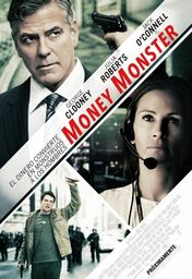 Cartel oficial en español de: Money Monster