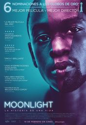 Cartel oficial en español de: Moonlight