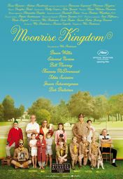 Cartel oficial en español de: Moonrise Kingdom