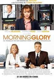 Cartel oficial en español de: Morning glory