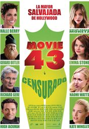 Cartel oficial en español de: Movie 43