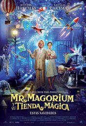 Cartel oficial en español de: Mr. Magorium y su tienda mágica