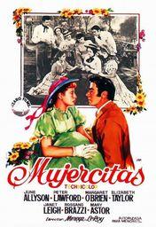Cartel oficial en español de: Mujercitas (1949)