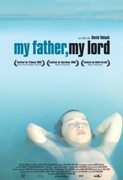 Cartel oficial en español de: My father, my lord