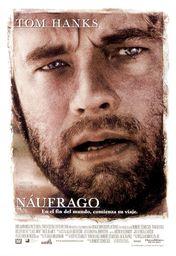 Cartel oficial en español de: Naufrago