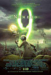 Cartel oficial en español de: Número 9