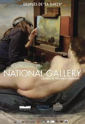 Cartel oficial en español de: National Gallery