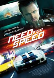 Cartel oficial en español de: Need For Speed