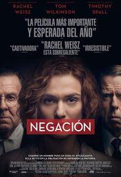 Cartel oficial en español de: Negación