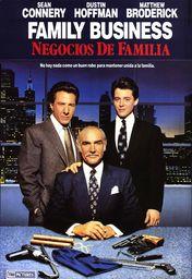 Cartel oficial en español de: Negocios de familia