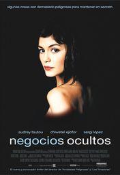 Cartel oficial en español de: Negocios ocultos