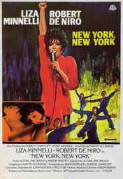 Cartel oficial en español de: New York, New York