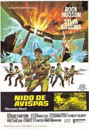 Cartel oficial en español de: Nido de avispas