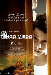 Cartel oficial en español de: No tengo miedo