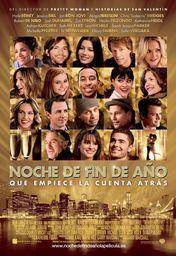 Cartel oficial en español de: Noche de fin de año