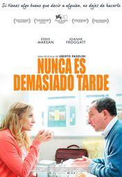 Cartel oficial en español de: Nunca es demasiado tarde
