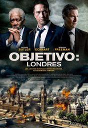 Cartel oficial en español de: Objetivo: Londres