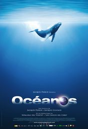 Cartel oficial en español de: Océanos
