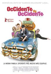 Cartel oficial en español de: Occidente es Occidente