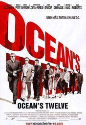 Cartel oficial en español de: Ocean's Twelve (Uno más entra en juego)