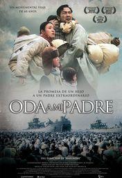 Cartel oficial en español de: Oda a mi padre