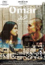 Cartel oficial en español de: Omar