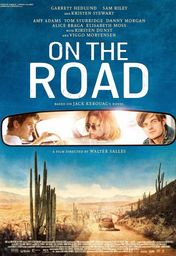 Cartel oficial en español de: On the Road (En la carretera)