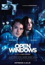 Cartel oficial en español de: Open Windows