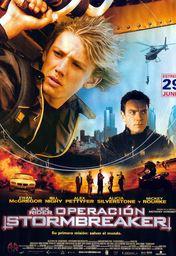Cartel oficial en español de: Alex Rider: Operación Stormbreaker