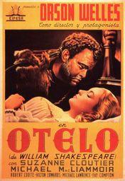 Cartel oficial en español de: Otelo (1952)