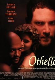Cartel oficial en español de: Otelo (Othello)
