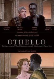 Cartel oficial en español de: Othello