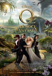 Cartel oficial en español de: Oz. Un mundo de fantasía